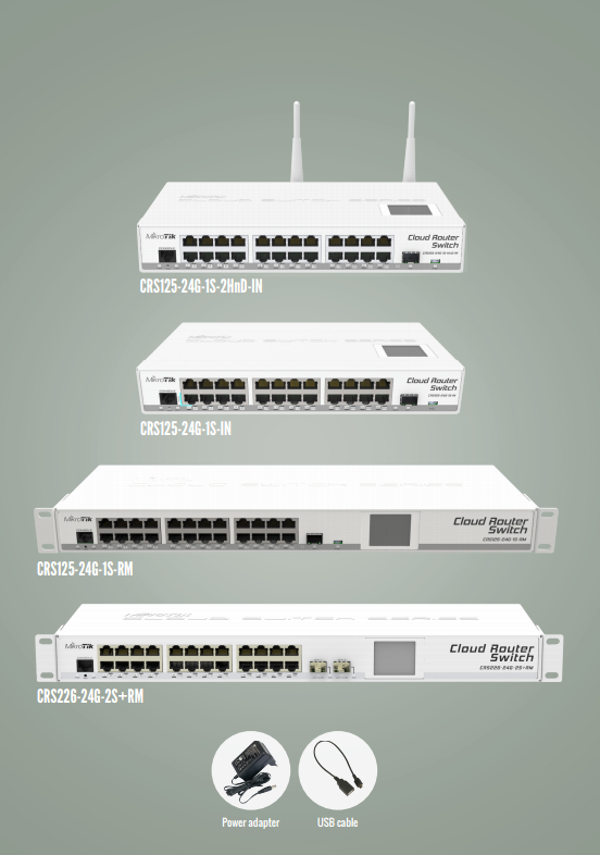 MikroTik Cloud Router Switch Series – NuVision Tech